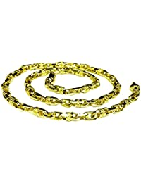 """14k Solid Yellow Gold Handmade Link Men's chain/Necklace 26"""" 78 grams 6 MM"""