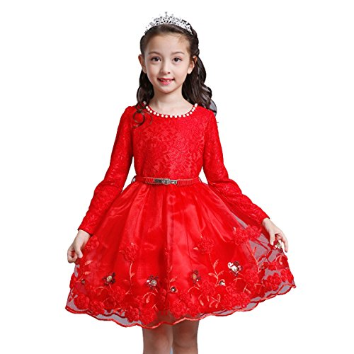 9c15a9a42b64a little dragon pig Kids Girl Dresses Flower Princess Pageant Weddling Party  Swing Dress Tulle Skirt Long