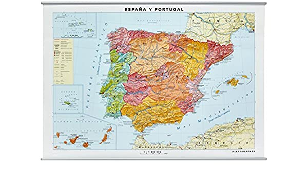 Mapa de España: Amazon.es: Klett: Libros en idiomas extranjeros
