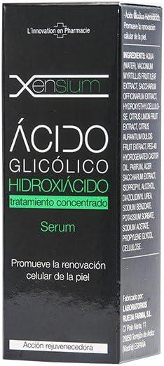 Xensium Serum, Ácido Glicólico Hidroxiácido, 30 ml