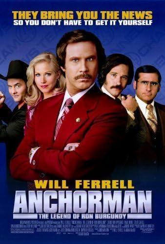 Anchorman: The Legend Of Ron Burgundy – Póster de la película ...