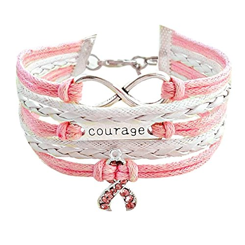 Courage, Infinity, Pink Ribbon Breast Cancer Awareness (Featuring Pink Ribbon)