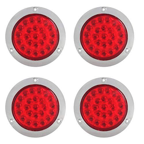 4In Round Led Tail Lights in US - 9