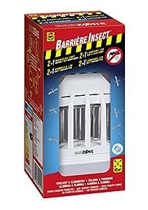 Barrera de Insectos Anti-Mosquitos Barrera Bombilla 2 en 1