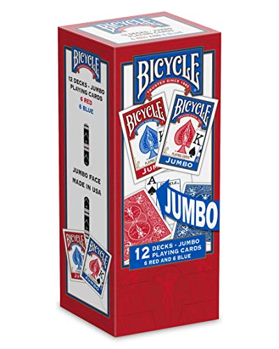 Bicycle Jumbo Playing Cards (Bicycle Deck Playing Cards)