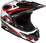 Cheap Lazer Phoenix Plus Helmet-Red/White