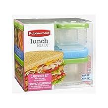 Rubbermaid Sandwich Lunch Blox Kit