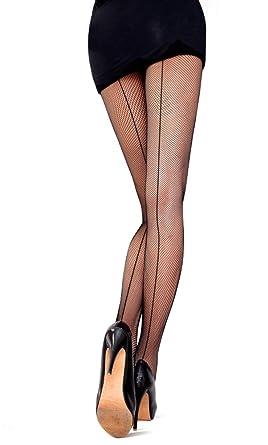Collant Resille Noir Effet Couture c9ad364ecd7