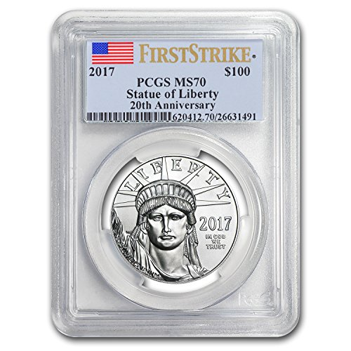 2017 1 oz Platinum American Eagle MS-70 PCGS (FS, Flag Label) 1 OZ MS-70 PCGS ()