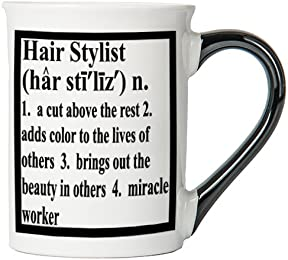 Hair Stylist Mug, Hair Stylist Coffee Cup, Ceramic Hair Stylist Mug, Custom Gifts By Tumbleweed