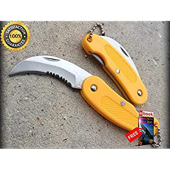 Amazon.com: Moon Knives - Llavero de bambú con diseño de ...