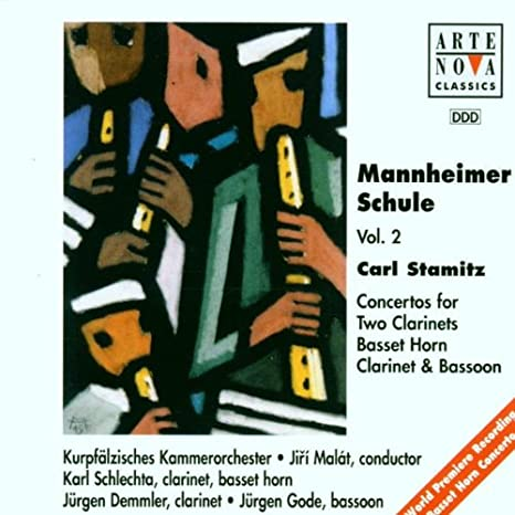 Mannheim School, Vol.2 by Stamitz, Carl, Malát, Jirí, Kurpfälzisches  Chamber Orchestra, Schlechta, Karl, Demmler, Jürgen, Gode, Jürgen:  Amazon.co.uk: Music
