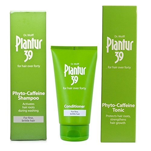 Plantur 39 Tonic, Shampoo and Conditioner For Fine, Brittle Hair by Plantur