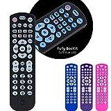 GE Universal Remote Control, Backlit, for Samsung, Vizio, Lg, Sony, Sharp, Roku, Apple TV, RCA, Panasonic, Smart TVs, Streaming Players, Blu-Ray, DVD, Simple Setup, 4-Device, Black, 40081