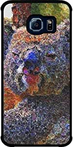 Funda para Samsung Galaxy S6 EDGE (SM-G925) - Koala Astillado by More colors in life