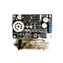 6E2 tube peephole cat eye drive board preamp DAC audio LED level meter VU instructions harmonic tube