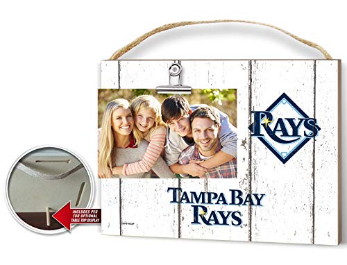 KH Sports Fan Clip It Weathered Logo Photo Frame (Clip It Weathered Logo Photo Frame Tampa Bay Rays) (Tampa Bay Rays Pictures)