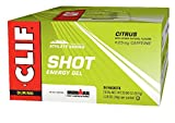 CLIF SHOT – Energy Gel – Citrus – With Caffeine (1.2 Ounce Packet, 24 Count)