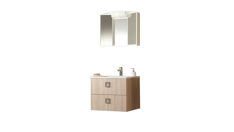 Unbekannt armadietto a specchio angy dimensioni: 59 x 50 x 15 cm l