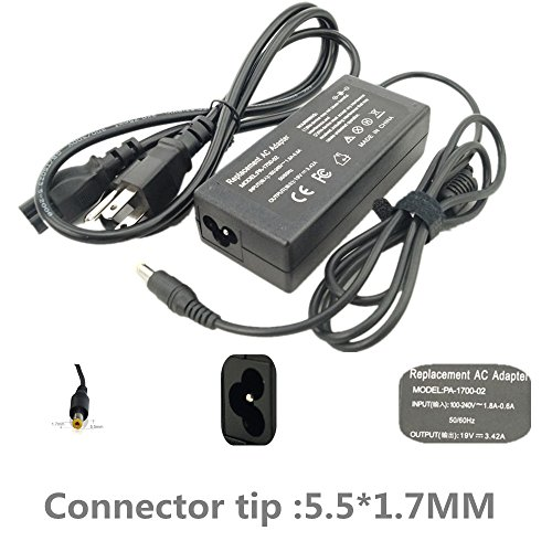 SIKER AC Power Adapter Charger for Acer Aspire One 722-0418 722-0432 725 P1VE6 PAV01 ZE6,7560-SB416 5250-0895 AS7750-6423 V5-V7-V3-R7-S3-E1-M5
