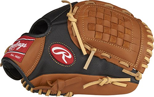 Rawlings Prodigy Youth Baseball Glove, Regular, Basket-Web, 11-Inch (Best Leather For Baseball Gloves)