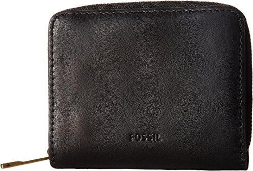 Fossil Women's Emma RFID Mini Multifunction Wallet, Black, O