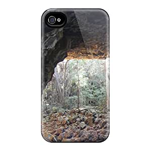 First-class Case Cover For Iphone 4/4s Dual Protection Cover Lava Tube