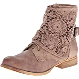 Not Rated Women's Crunchiness & Crunchy Crunch Combat Boot