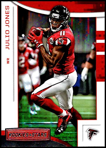 2018 Rookies and Stars Football #98 Julio Jones Atlanta Falcons Official NFL Trading Card Produced by Panini