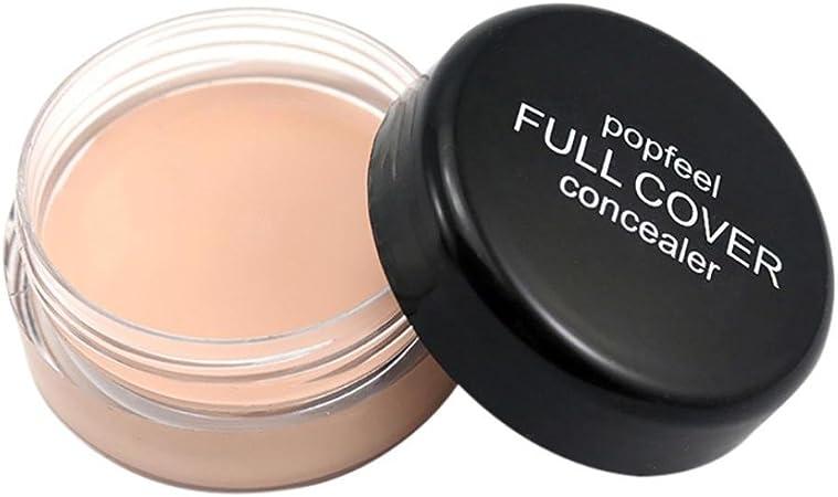 D Popfeel Makeup Concealer Foundation Secret Concealer for Women Fashion Cover Everything Concealers Neutralizing Natural Makeup Cream Concealer Corrector Makeup Foundation