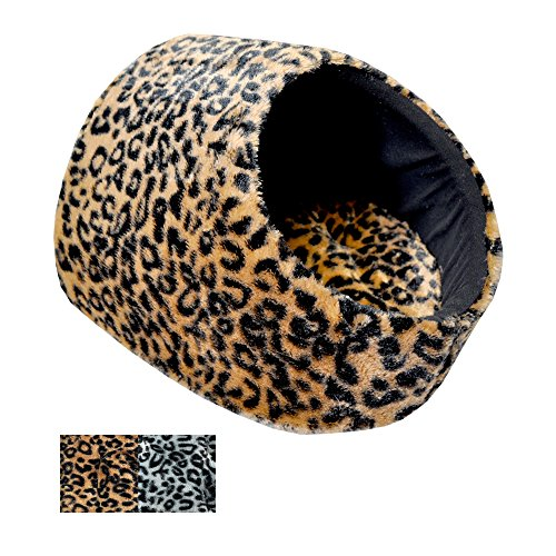 Downtown Pet Supply Best Cat Cave House and Kitty Bed, Extremely Cozy and Warm Mat (Beige) ()