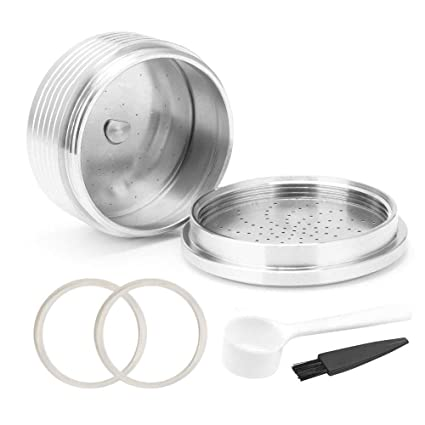 Refillable Stainless Steel Coffee Filter Pod for Coffee Maker Replacement