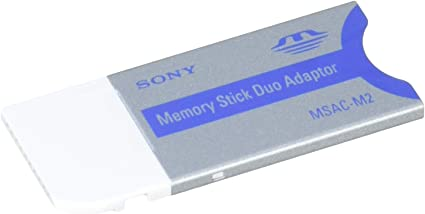 Amazon.com: Sony Memory Stick Duo adaptador para MS ranura ...