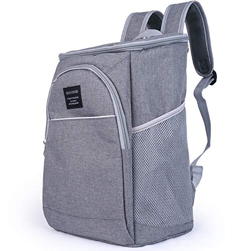 - Cooler Backpack Insulated Waterproof, Leak Proof, Leakproof, Small Grey