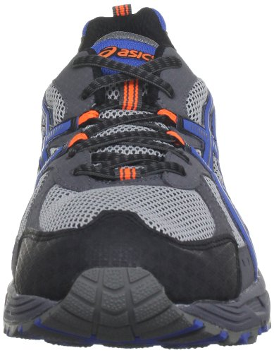 Asics Gel Enduro 8 M - Zapatillas Hombre Grey/Blue/Flash Orange