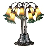 Meyda Tiffany 14357 Pond Lily 10 Light Table Lamp - 22