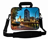 Customized with ( City Chicago Illinois night ) Shoulder Bag Good For Boy's (10 Inch) For 9.7