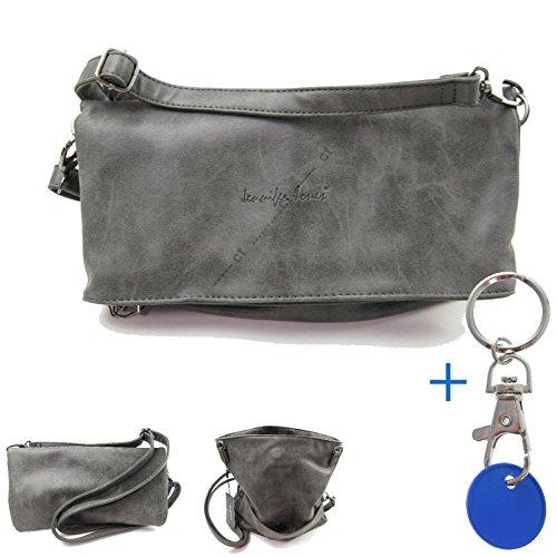 Damenhandtasche #5116 Tasche schick Umhaengetasche