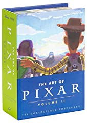 From Ratatouille through Brave, The Art of Pixar: Volume II features gorgeous and illuminating concept art and iconic final frames from the 6 Pixar feature films and 18 short films released from 2007 on.