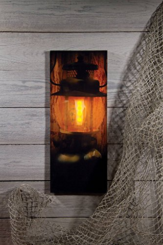 Ohio Wholesale Campers Lantern Lighted Canvas 20 x 8