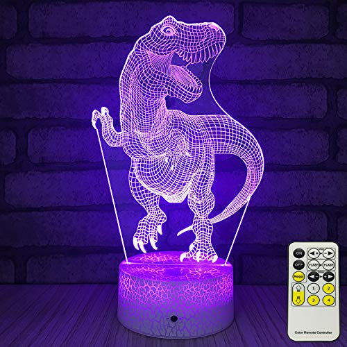INSONJOHY Kids Night Lights Bedside Lamp 7 Colors