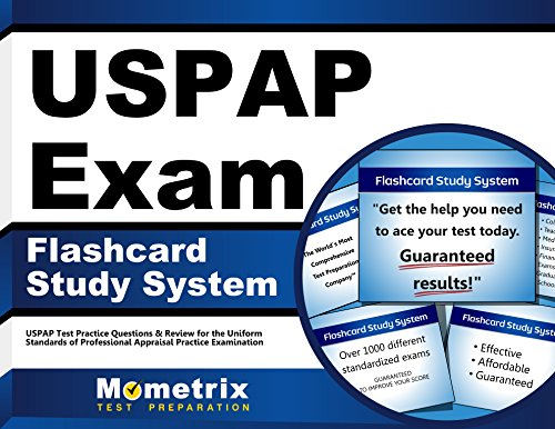 USPAP Exam Flashcard Study System: USPAP Test Practice Questions & Review for the Uniform Standards of Professional Appraisal Practice Examination (Cards)