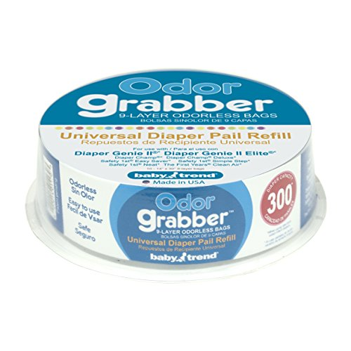 Baby Trend Odor Graber Universal Diaper Pail Refill