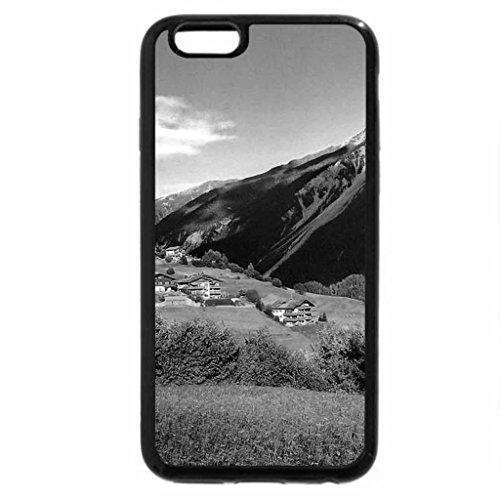 iPhone 6S Plus Case, iPhone 6 Plus Case (Black & White) - Alpine beauty