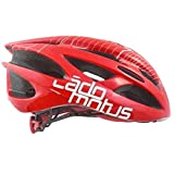 Cádomotus Delta Inline Speed Helmet - Red-Medium