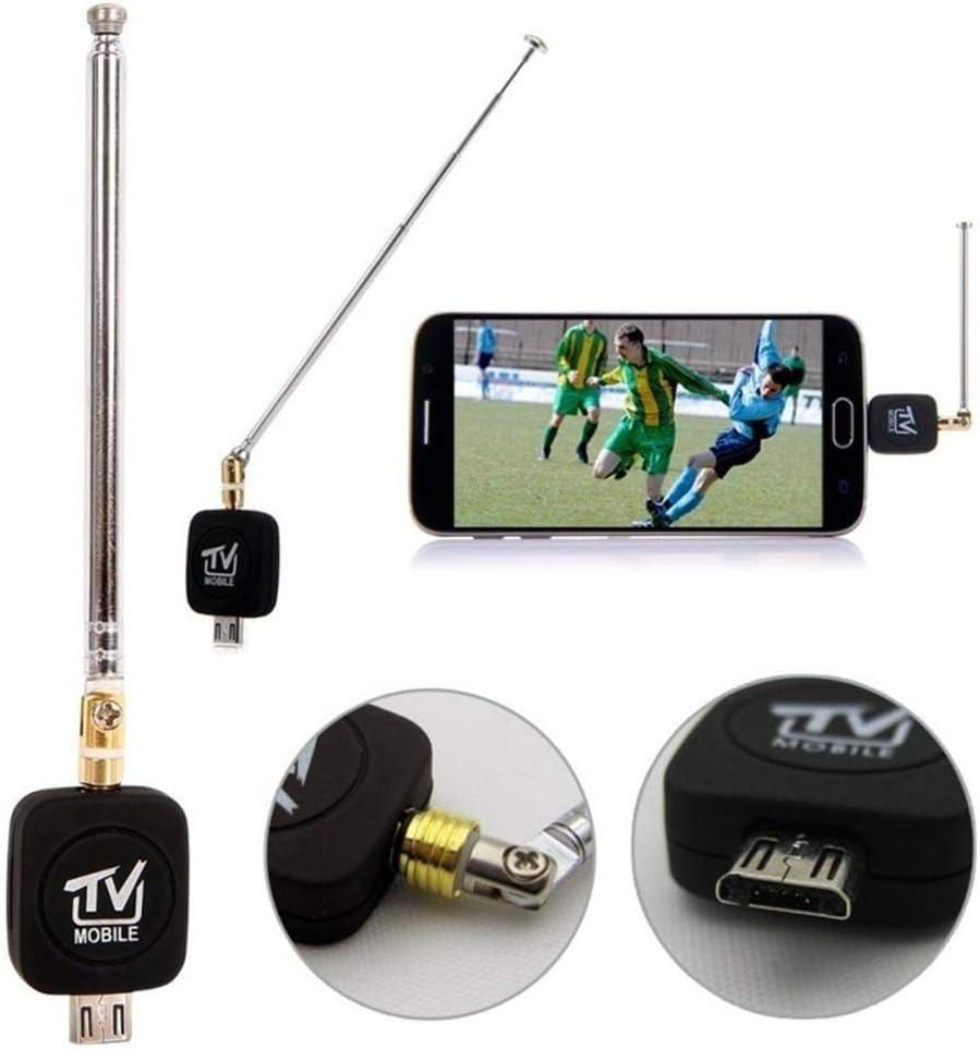 332PageAnn DVB-T USB Sintonizador Receptor Antena HD TV Splitter para Android Smartphone Tablet PC HDTV Mini Tamaño, Ligero, fácil de Transportar: Amazon.es: Electrónica