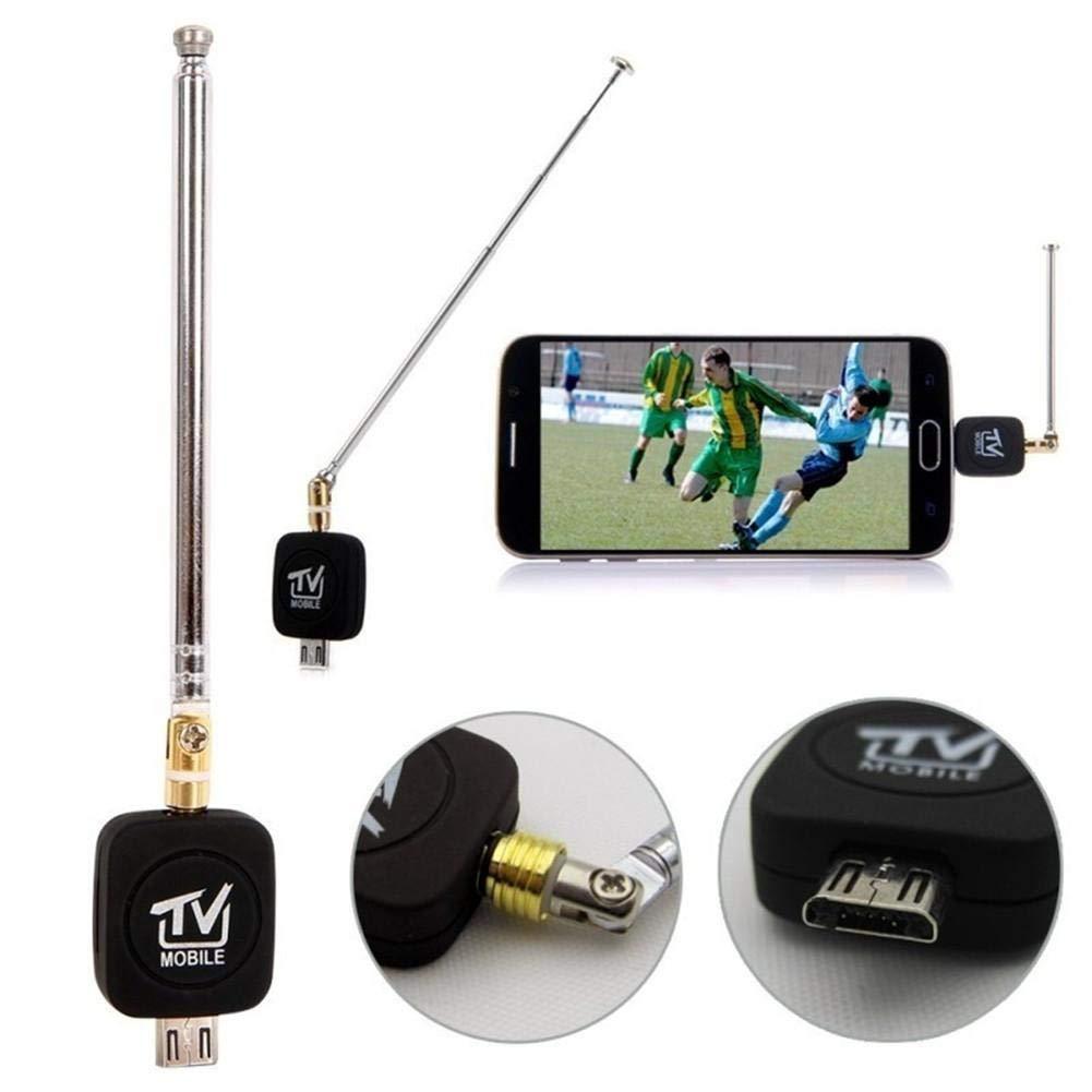 332PageAnn DVB-T USB Sintonizador Receptor Antena HD TV Splitter para Android Smartphone Tablet PC HDTV Mini Tamañ o, Ligero, fá cil de Transportar fácil de Transportar