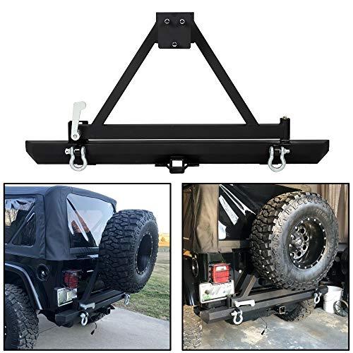 jeep bumpers tj rear - 8