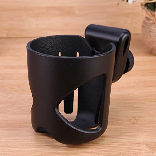 Ireav Baby Stroller Cup Holder Rotatable Holder Baby Stroller Parent Console Organizer Cup Bicycle Bottle Cup Rack by Ireav (Image #2)