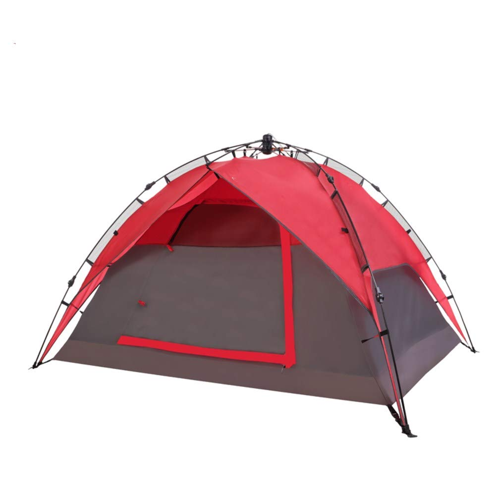HUIYUE 3-4 Personen Outdoor Camping Zelt,Automatische Zelt,Winddichte Zelte,Familie Camping Camping-ausrüstung Regendichte Portable Zelte-A 220x190x125cm(87x75x49inch)
